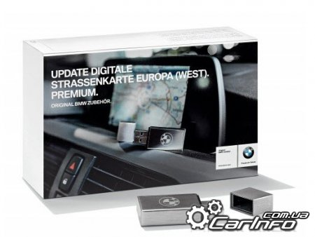BMW Road Map Europe East+West  PREMIUM 1/2019 Карты навигации для CIC