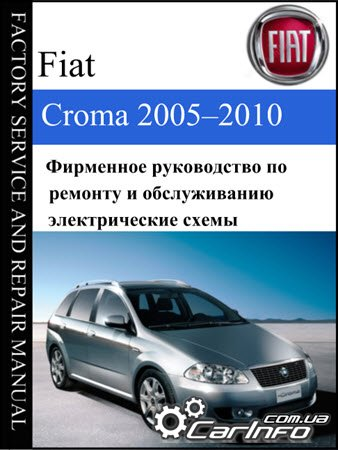 Fiat Croma 2005-2010 E-Learn, Fiat Croma Workshop Manual (Elearn)